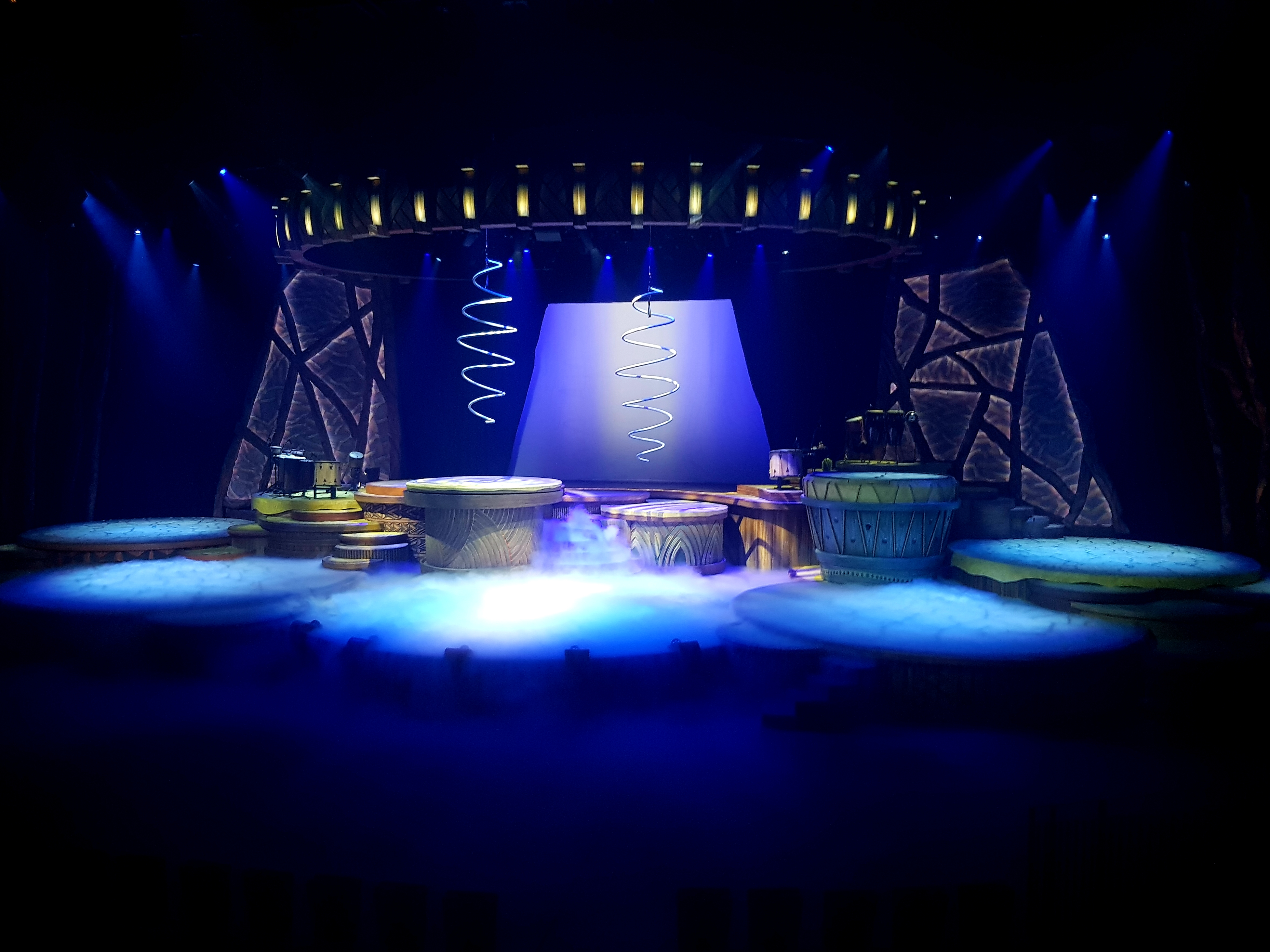 Stage for Musical Comedy