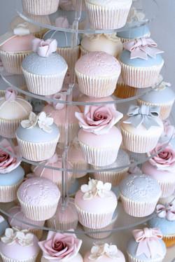 Annie cupcake tower