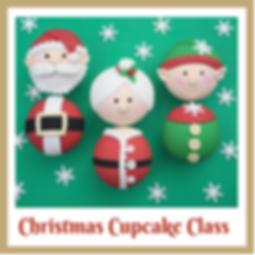 christmas cupcake decorating class