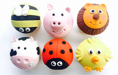 cupcake class, animal cupcake class, sugarpaste modeling class, childrens cupcake class, things to do with my children at half term