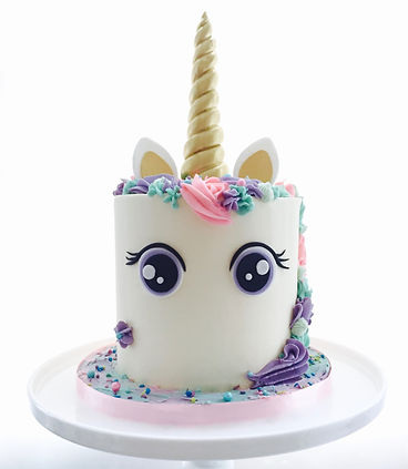 Unicorn cake, unicorn cake decorating class