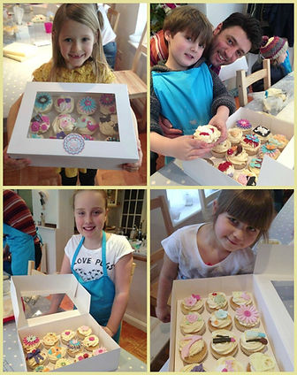 Childrens cupcake decorating class, Parent and child activities Cornwall, things to do with your children, Half term fun with your children, half term cupake class