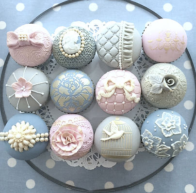 Vintage cupcake class, Cupcake classes Cornwall, vintage style cupcakes