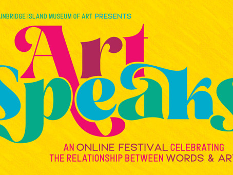 Art Speaks: A Week Long On-Line Festival