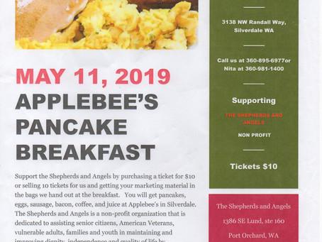 Applebee's Pancake Breakfast, May 11, 2019