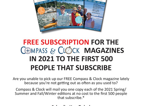 FREE Subscription for Compass & Clock 2021 Magazines