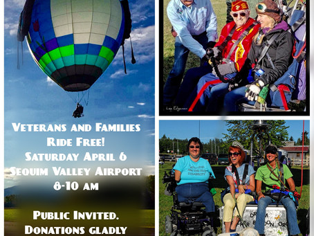 DreamCatcher Balloon - Veterans Ride FREE!