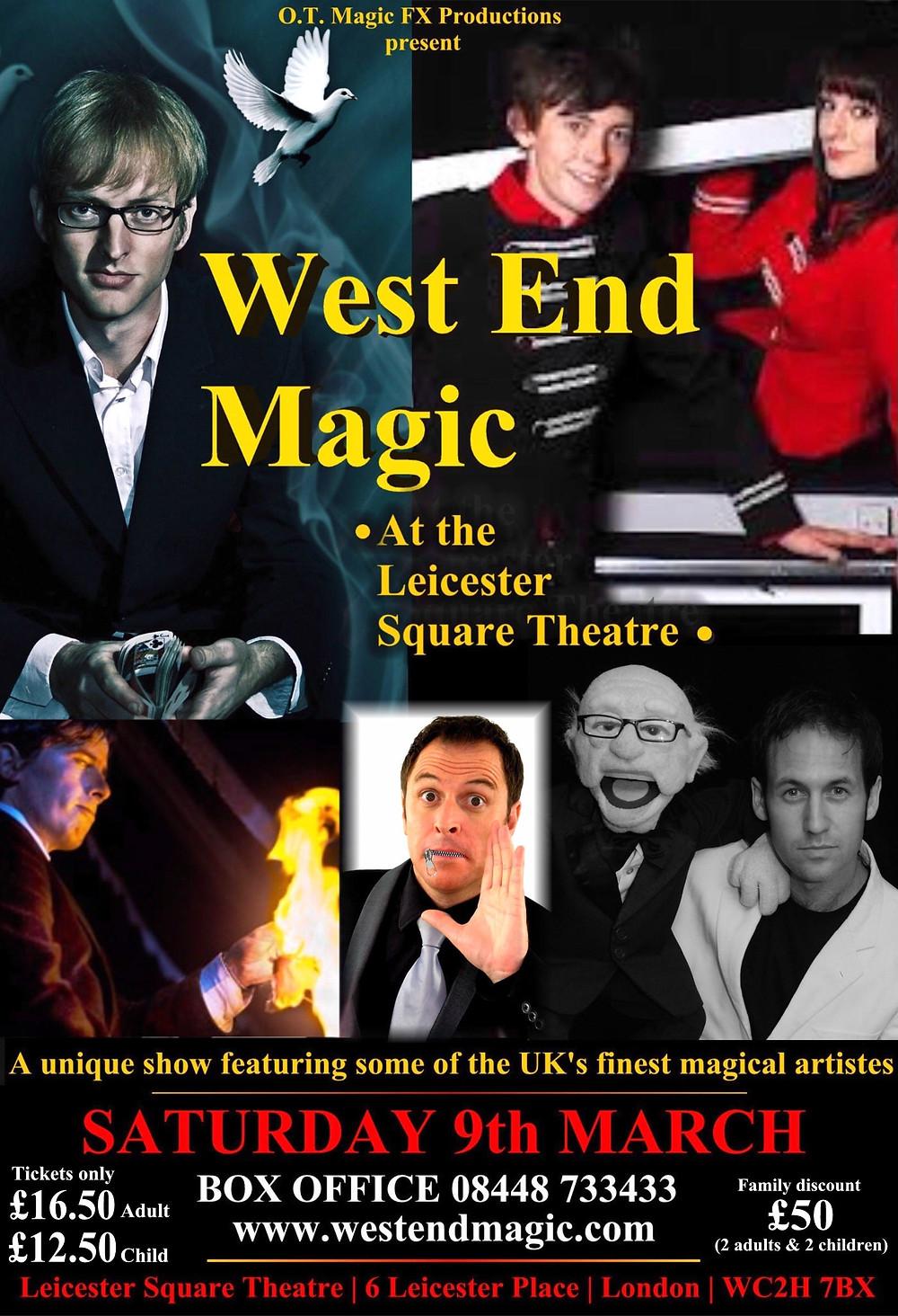WEM first show poster