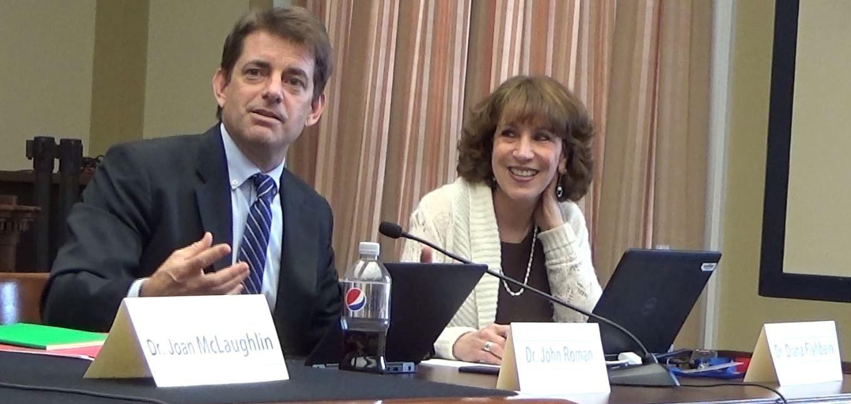 Dr. John Roman & Dr. Diana Fishbein