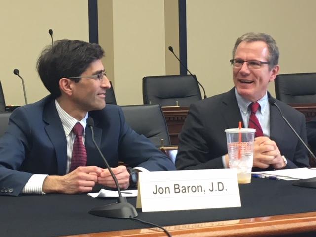 Dr. John Baron and Dr. Wilson Compton