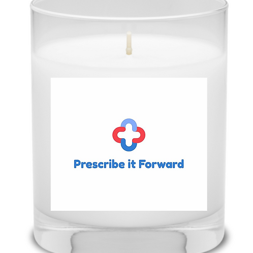 The Prescribe it Forward x Pretty Honest Candle
