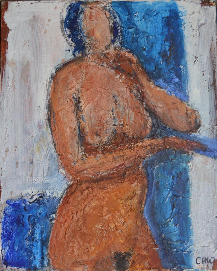 Standing female figure II