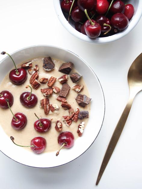 Bowl de crema de manzana & canela