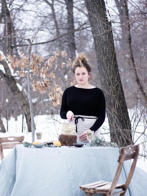 The warmest taste of snow by Zoe Hegedus