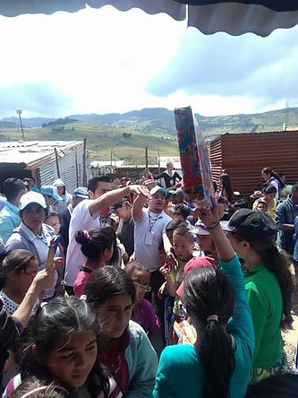 Más de 200 niños el ensueño 1y 2 ciudad