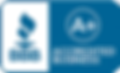 emblem for Kingsky Flight Academy review with A+ ratting with the Better Business Bureau