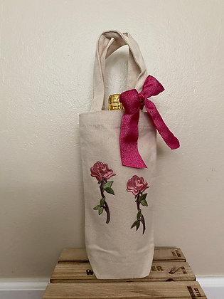 Wine Bag-Double Rose