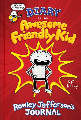 Diary of an Awesome Friendly Kid: Rowley Jefferson's Journal Hardcover – Illustr