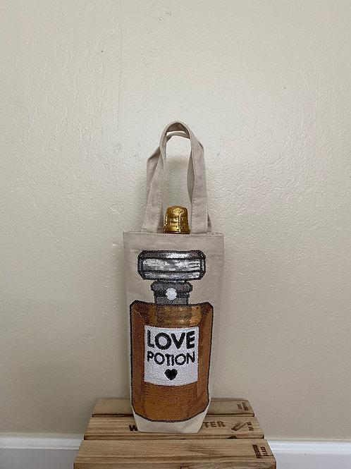 Wine Bag-Sequins Love Potion