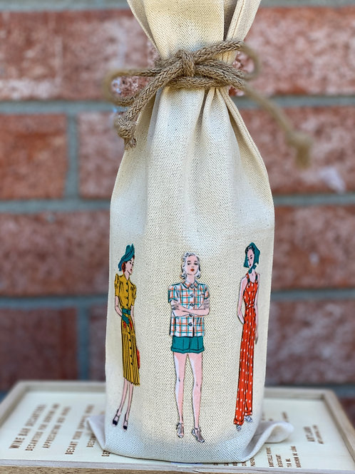Wine Bag-  Fashion Women-Empowered Women