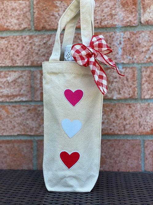 Wine Bag-Hearts