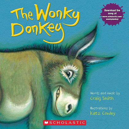 The Wonky Donkey Paperback – Illustrated