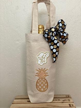 Wine Bag-Wild & Free Pineapple