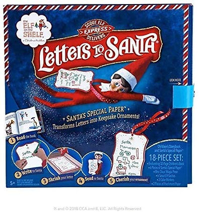 Letters to Santa- Elf on the Shelf