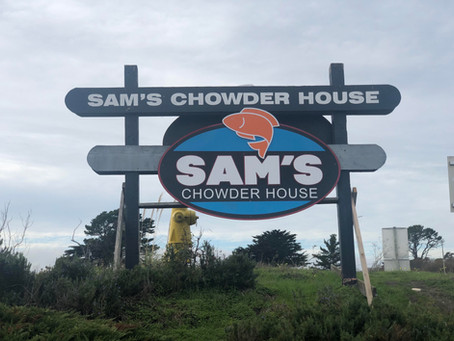 Sam's Chowder House- Half Moon Bay, CA