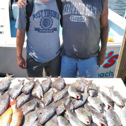 Fishing on Two CS Charter.