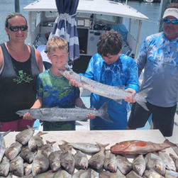 Family Fun Day on Charter Boat Two CS.