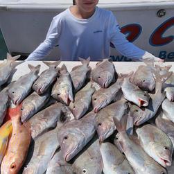 Plenty of Fish on Two CS Fishing Charter