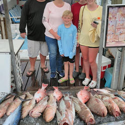 Lot's of Fish on Charter Boat Two C'S II