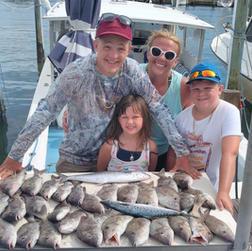 Family Fish Fun Time Two Cs.