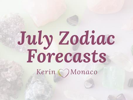 July Zodiac Forecasts