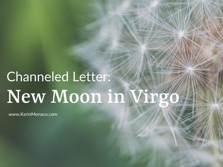 Lightworker Letter: New Moon in Virgo