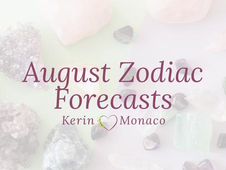 August Zodiac Forecasts