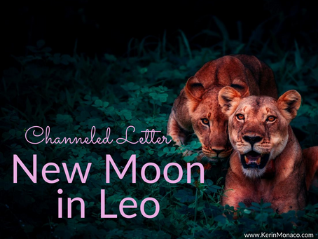 Channeled Letter: New Moon in Leo