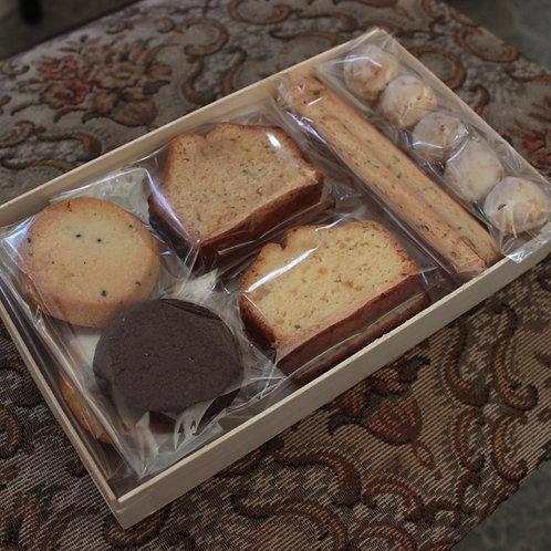 motherスパイスティーと焼き菓子のセット