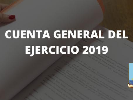 CUENTA GENERAL DEL EJERCICIO 2019
