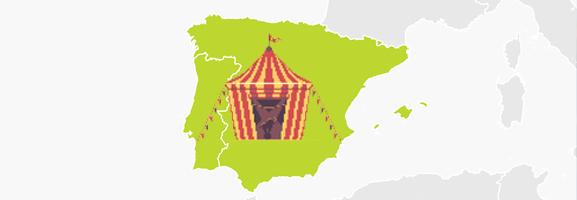 El fútbol español es un circo