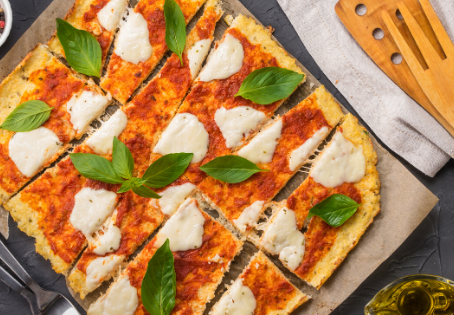 My Favorite Cauliflower Pizza Recipe