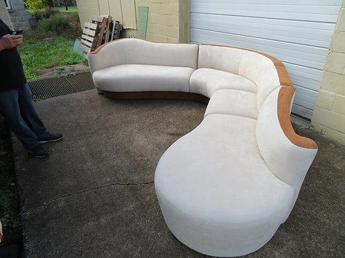 Vladimir Kagan 4 Piece Sofa Sectional