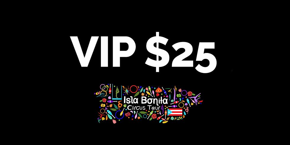 ISLA BONITA CIRCUS TOUR - Donación Especial - $25