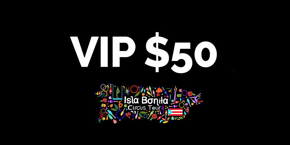 Isla Bonita Circus Tour - Donación Especial - $50