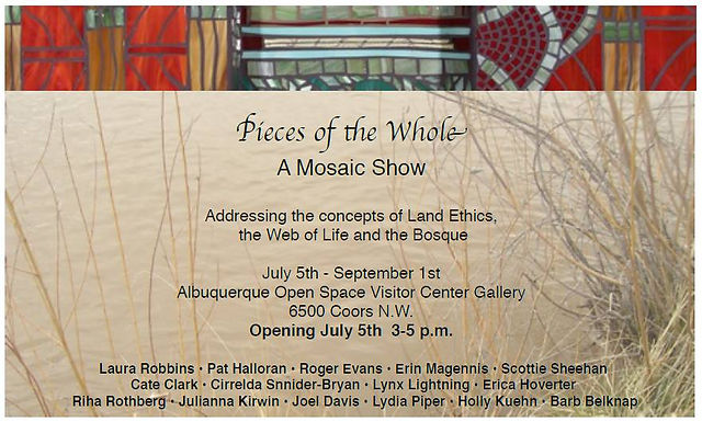Pieces of the Whole: A Mosaic Show