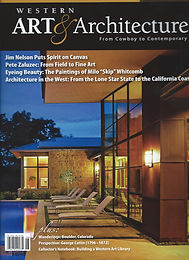 Featured Artist - Western Art & Architecture Magazine