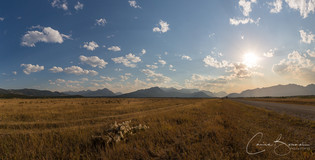 Late Afternoon near the Rockey Mountains