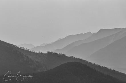Smoky Sky at Banff NP