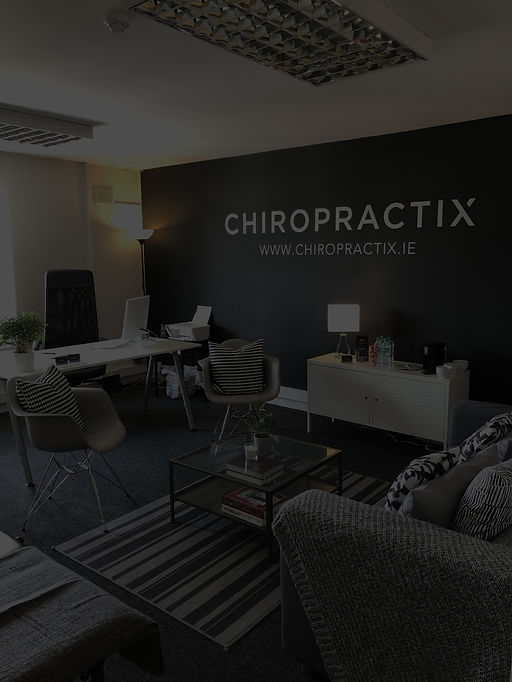 Chiropractix Treatment Room